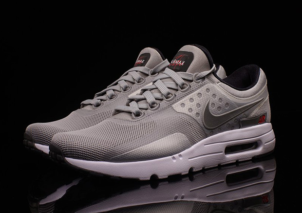 95811e26951ac Nike Air Max Zero Metallic Silver