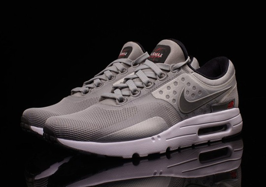 "Nike Air Max Zero ""Metallic Silver"""