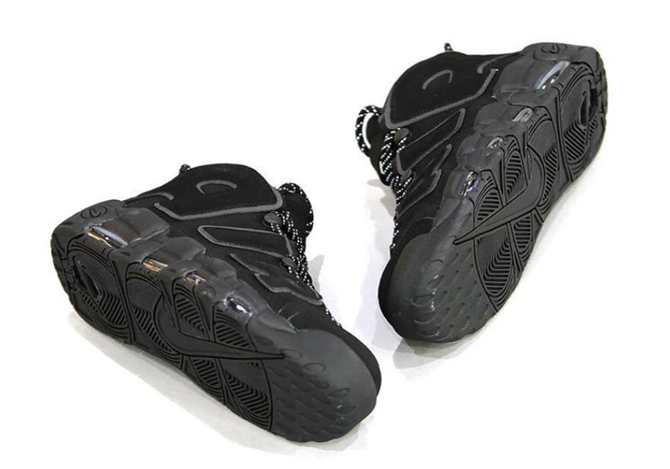 buy online f6f9e 51113 Nike Air More Uptempo Black Dark Grey Fall 2016   SneakerNews.com
