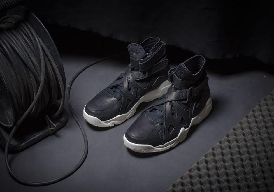 Hollywood Dar Clasificar  Nike Air Unlimited Premium Black Leather Sail | SneakerNews.com