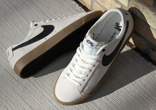 The Nike SB Blazer GT Releases In Ivory And Gum
