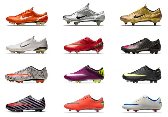 "Nike Remembers Cristiano Ronaldo's ""Defining Moments"""