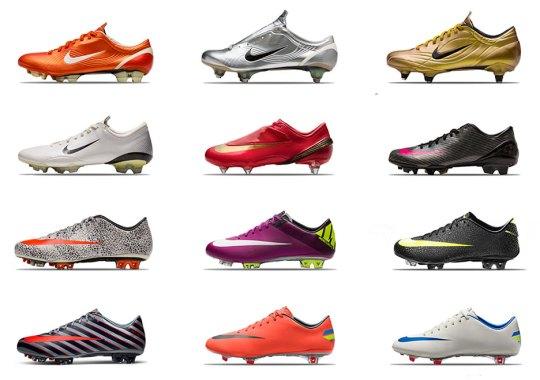 "Nike Remembers Cristiano Ronaldo's ""Defining Moments"""