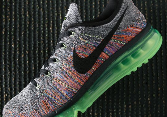 """Nike Combines""""Multi-Color"""" and """"Oreo"""" On The Same Flyknit Air Max"""