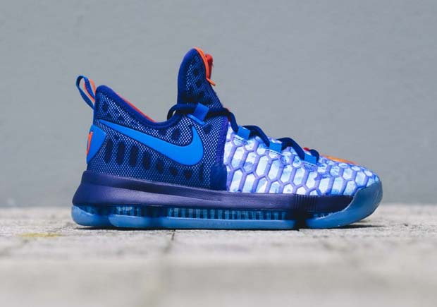 Kevin Durant S Fire And Ice Shoes