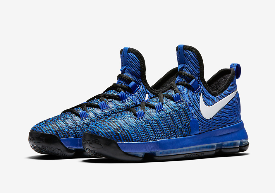 the best attitude 1a8be cbd37 Nike KD 9 Game Royal Black 855908-410   SneakerNews.com