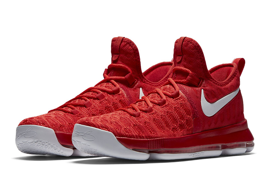 Basketball Nike Shoes Red White Black