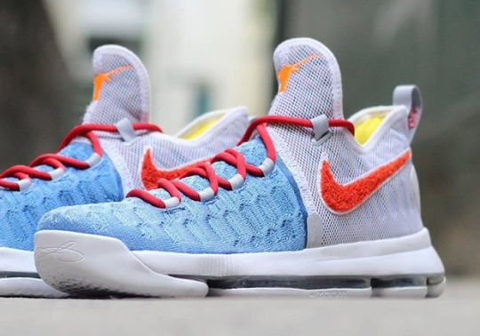 The Texas Longhorns Get A Wild Nike KD 9 PE