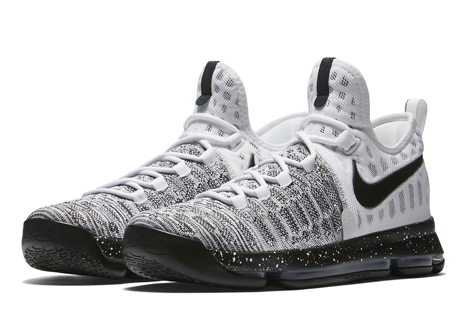 "hot sale online 6d736 36ff5 Nike Continues With Colorless KD 9 Releases In ""Oreo"""