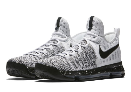 "Nike Continues With Colorless KD 9 Releases In ""Oreo"""