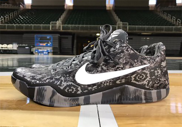 save off ddbef d6f52 ... hot buy 23378 d1eef michigan state spartans to wear nike kobe 11 armed  forces pe 8b2dc