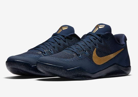 Nike Kobe 11 Releasing In Navy And Gold