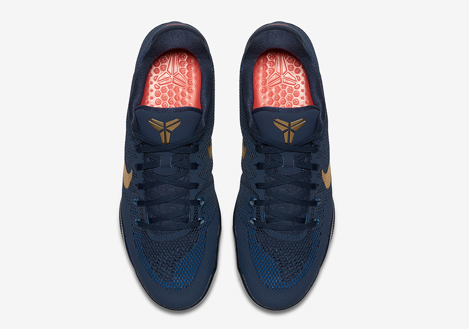 c9c3d7044eb1 Nike Kobe 11 Philippines Navy Gold 836183-447