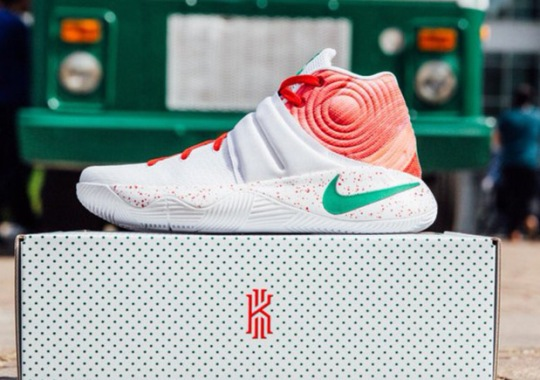 Nike Re-releases The Ky-rispy Kreme 2 At Foot Locker 34th St.