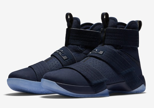 The Nike LeBron Soldier 10 Goes Full Blue
