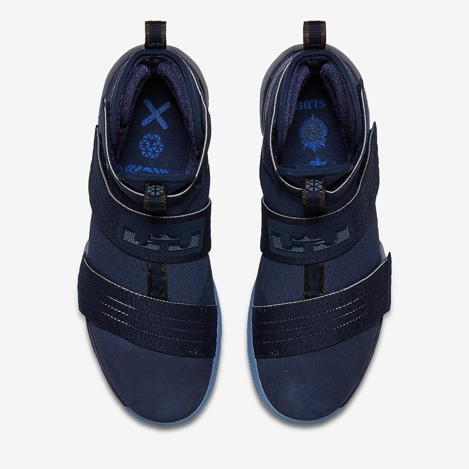 huge discount 5ce3c 66cad Nike LeBron Soldier Midnight Navy 844378-444 | SneakerNews.com