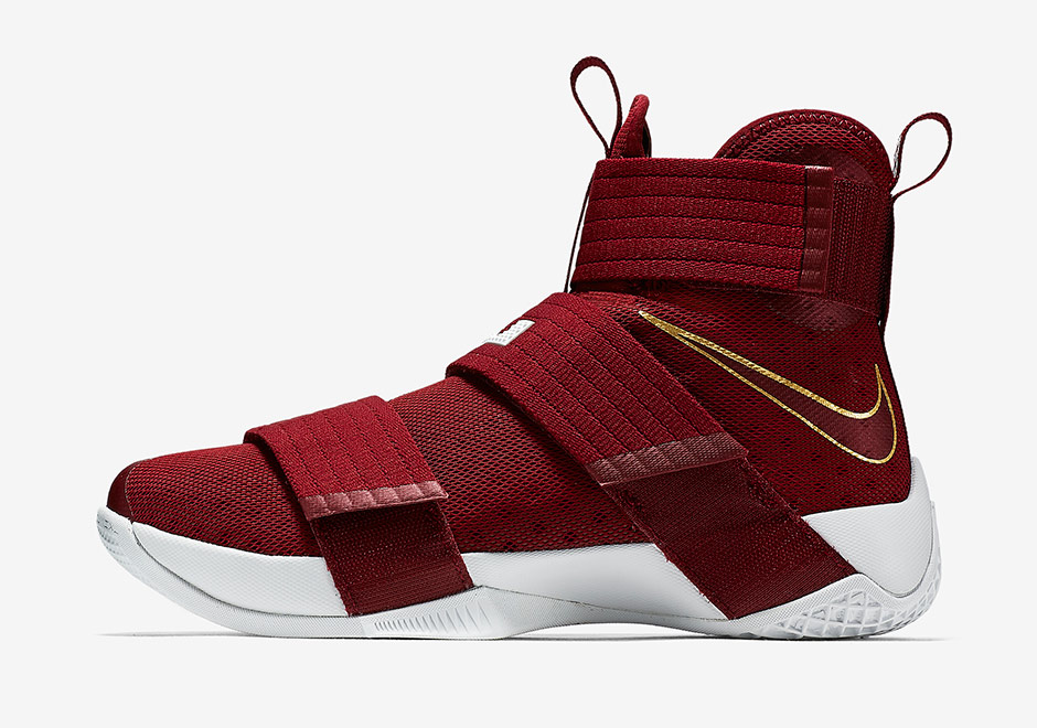 Nike LeBron Soldier 10 Team Red 844375-668 | SneakerNews.com