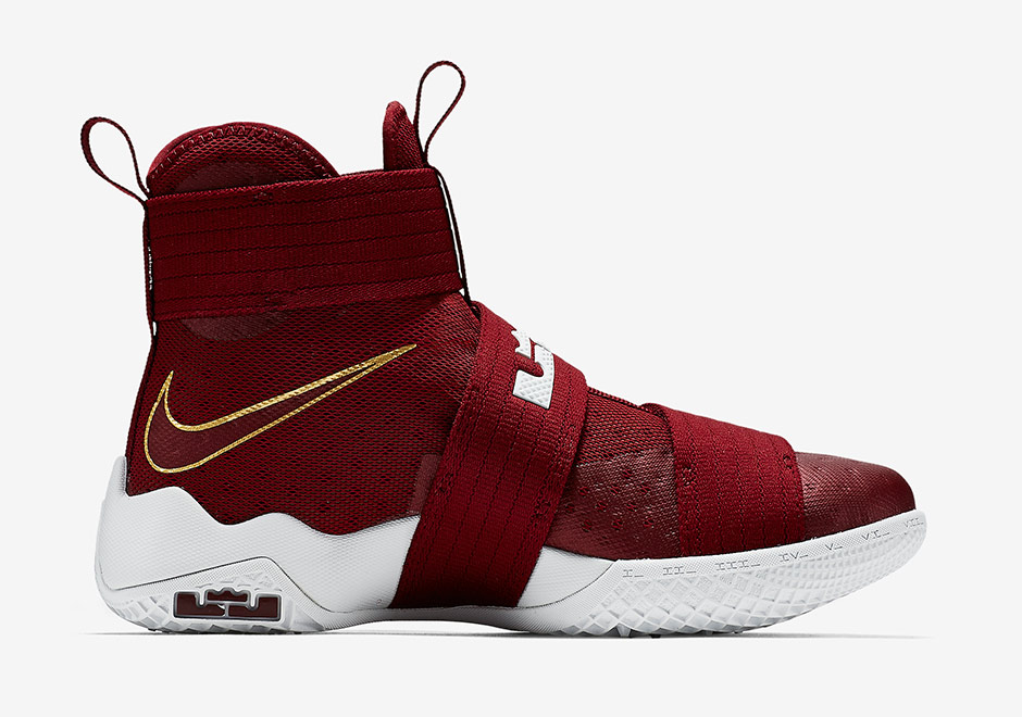 Lebron White And Red Shoes