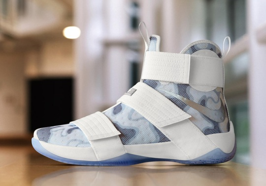 "NIKEiD LeBron Soldier 10 ""Camo"" For Veterans Day"