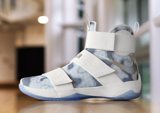 """NIKEiD LeBron Soldier 10 """"Camo"""" For Veterans Day"""