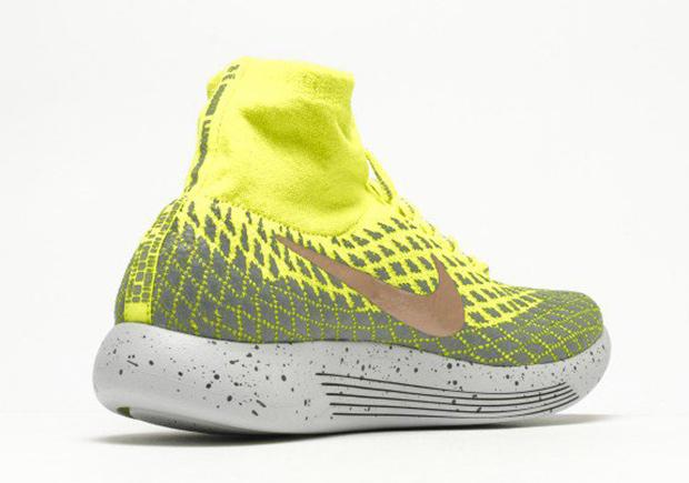 new products 7e473 a2e8e Nike LunarEpic Flyknit Shield Volt 849664-700 | SneakerNews.com
