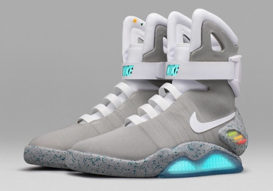 Nike Mag Sells For $200,000 In NYC Auction