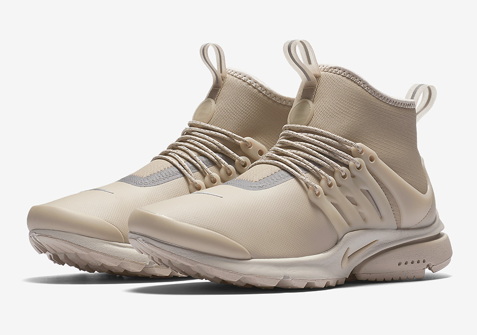 buy popular 89ffa ade0b Nike Presto Mid Utility Tan Women's 859527-200 | SneakerNews.com