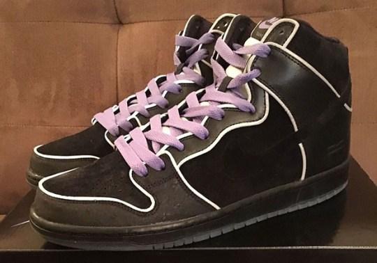 "The Nike SB Dunk High ""Purple Box"" Resembles The MF DOOM Collaboration"