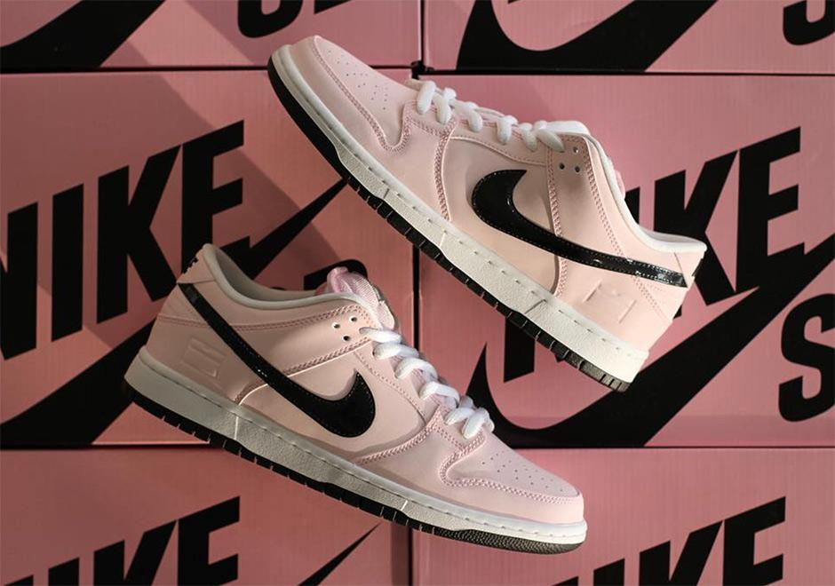 "best service b6ede 1ba8b Nike SB Dunk Low ""Pink Box"""