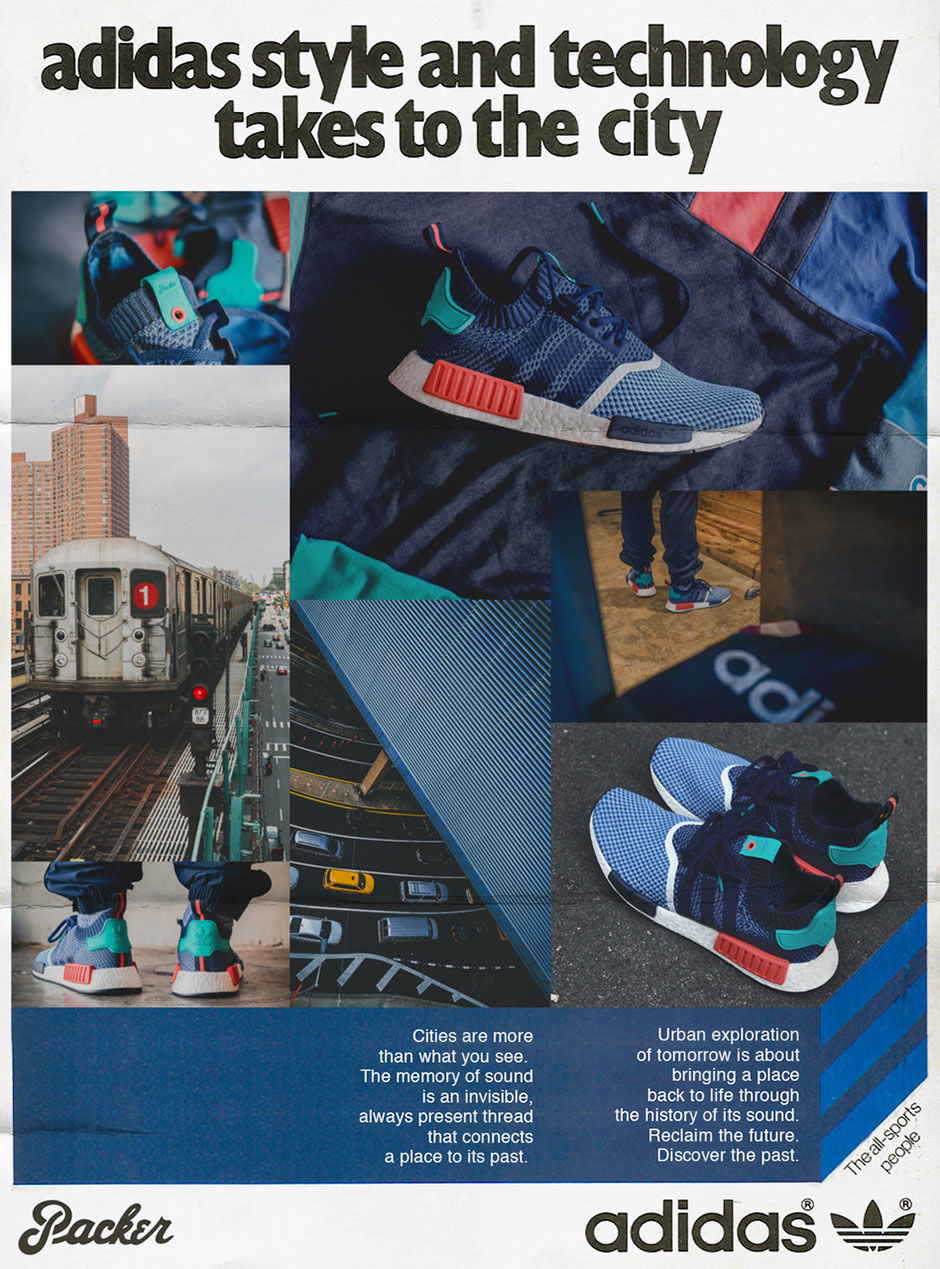 official photos d2087 9e5c4 Packer Shoes Recreates Vintage Ads For Upcoming adidas NMD Release -  SneakerNews.com
