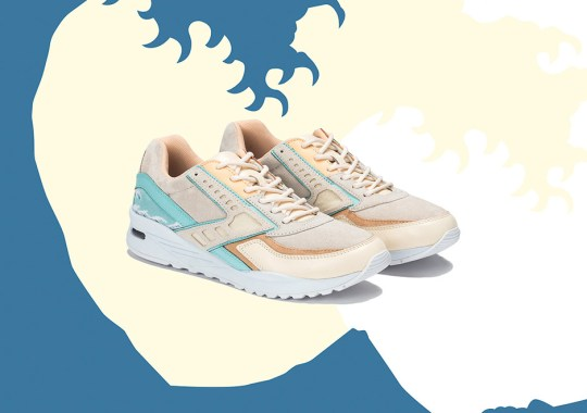 "Pink Dolphin And Brooks Heritage Debut The ""Great Wave"" Regent"