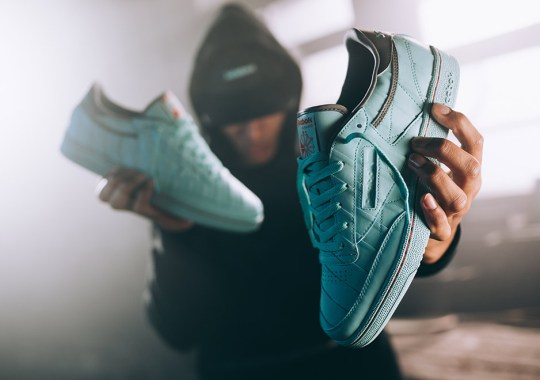 Solebox and Reebok Create A Club C Inspired By Vintage Tennis Rackets