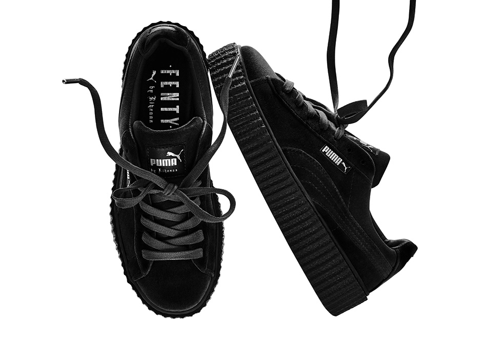 Where to buy Puma Rihanna Velvet Creepers Online  8f5dc7213
