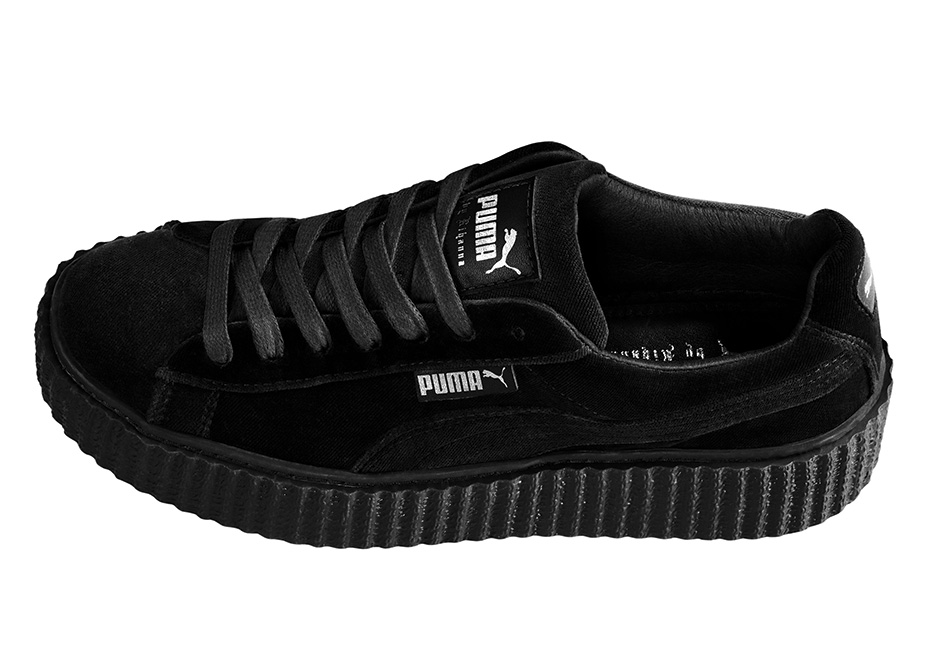 hot sale online a26ac 0d7a9 Where to buy Puma Rihanna Velvet Creepers Online ...