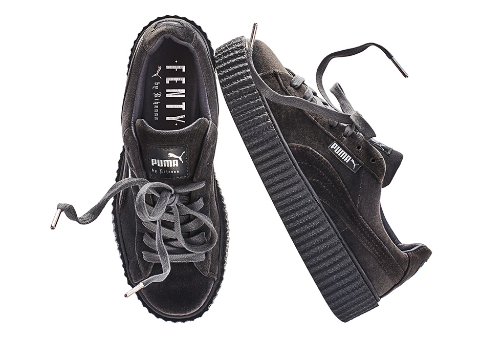 hot sale online fe908 c43c5 Where to buy Puma Rihanna Velvet Creepers Online ...