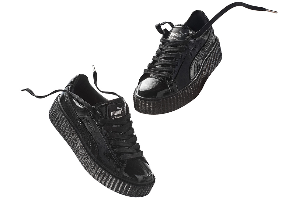 hot sale online 387ec 2930a Where to buy Puma Rihanna Velvet Creepers Online ...