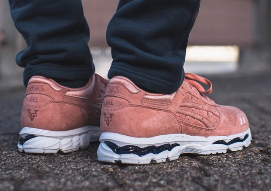 "Ronnie Fieg Bringing Back ""Salmon Toe"" And ""Militia"" For His Legends Day ASICS Collaboration"