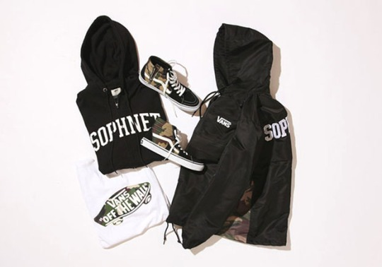 Sophnet and Vans Collaborate On a Camo Accented Collection