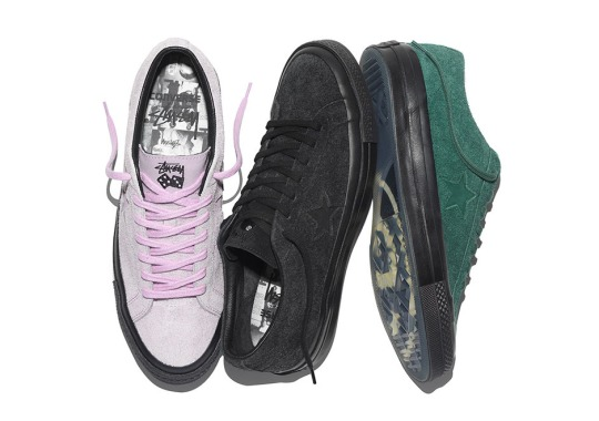 Stussy and Converse Collab For Premium Editions Of The One Star '74