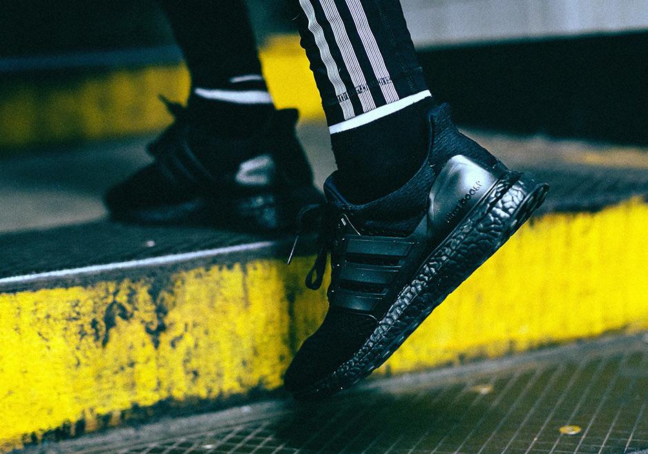 c1ff030ec76163 adidas Ultra Boost Triple Black 2016 Release Date