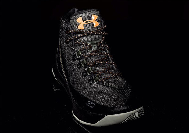 Under Armour Curry 3 Black Gold
