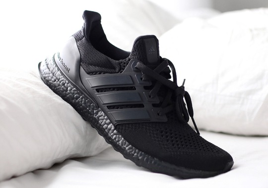 "Official Release Info For The adidas Ultra Boost ""Triple Black"""