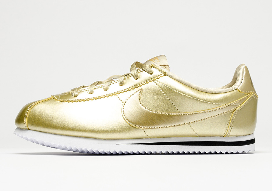 buy online 6964f 71e69 Nike Cortez Metallic Gold 859569-900 | SneakerNews.com