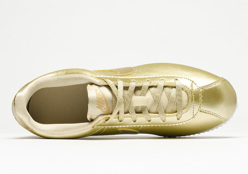 buy online 00245 716c1 Nike Cortez Metallic Gold 859569-900 | SneakerNews.com