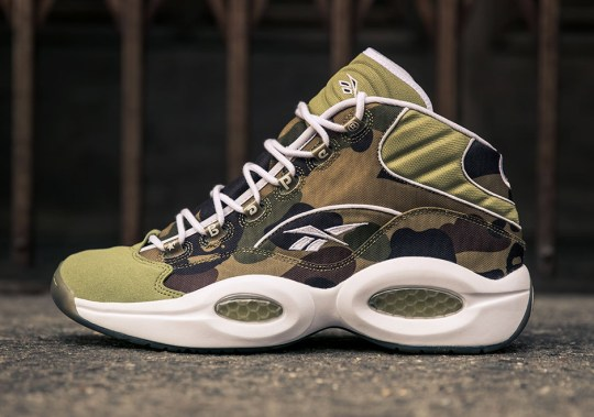 BAPE and mita Sneakers Combine For Reebok Question Collab