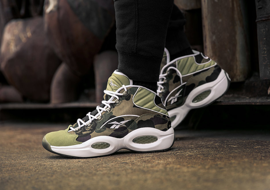 bape reebok question mid