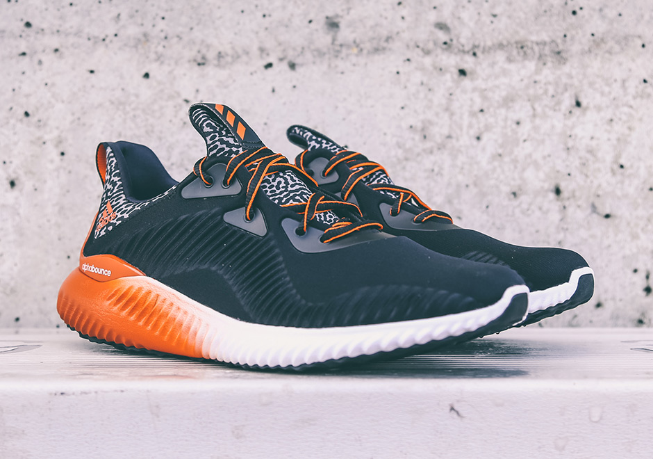 new photos 1158b 62ef7 ... Miami Hurricanes PE College Bowl Pack 2016 adidas Presents Exclusive  College-Themed AlphaBOUNCE Pack for Bowl Season ...