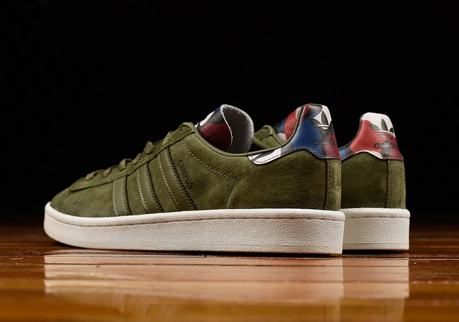 "adidas Originals Campus 80s. adidas Goes Old School With This adidas Campus  ""Olive Suede"" Colorway 88d89b0a8"