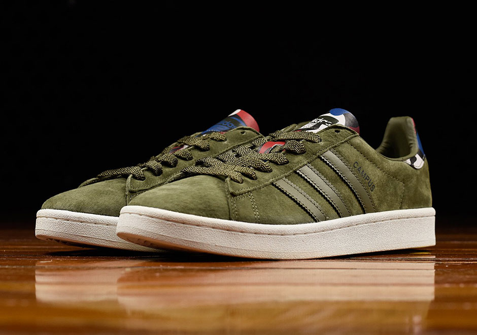 quality design great quality buying now adidas Campus Olive Suede BB0077 | SneakerNews.com