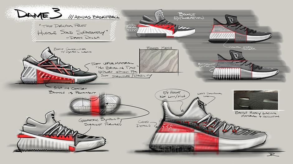 new style 9080f 8bfc6 adidas D Lillard 3 Release Date Info  SneakerNews.com